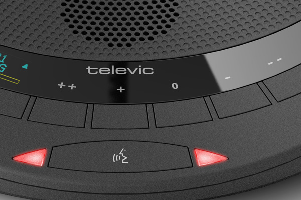 Televic Confidea T-CIV Wired Chairman Unit. Built-in speaker. Prior Next. RFID. Ch sel. No mic incl